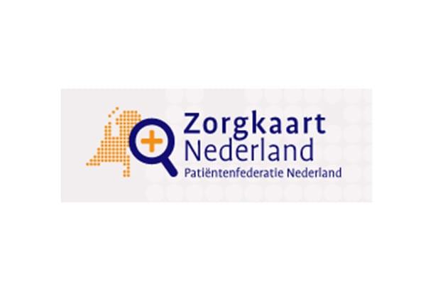 Beeld met logo Zorgkaart Nederland