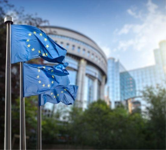 illustratief: Vlag Europese unie