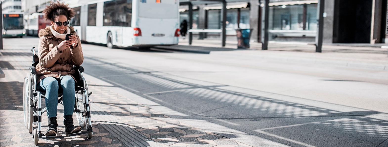 Illustratief: bus aan het busplatform