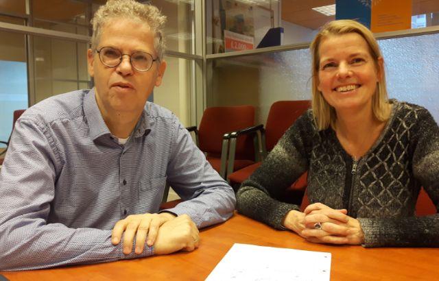 Margreet en Bart van Voorall