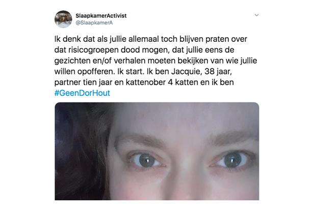 Activiste Jacquie op Twitter