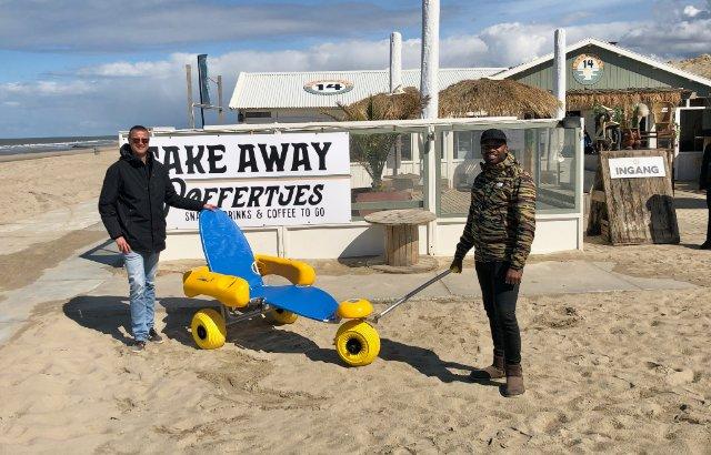 Voorall-project 'Haagse stranden toegankelijk' werpt vruchten af